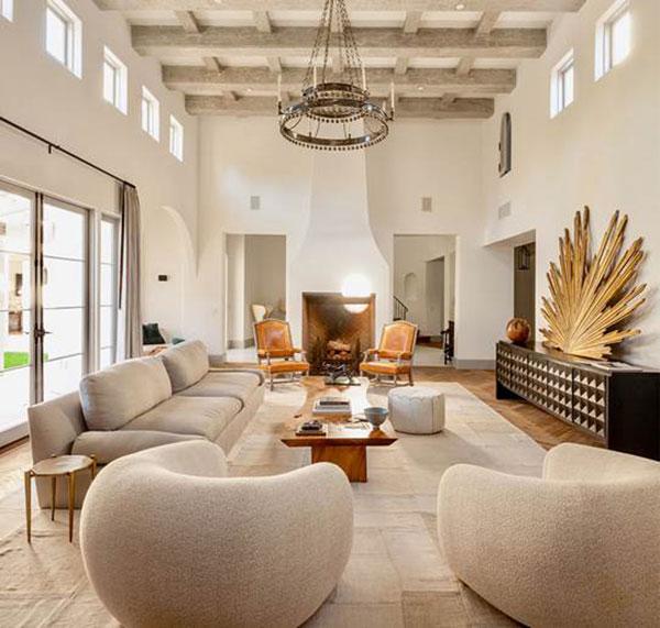 Webb Construction - Living room interior